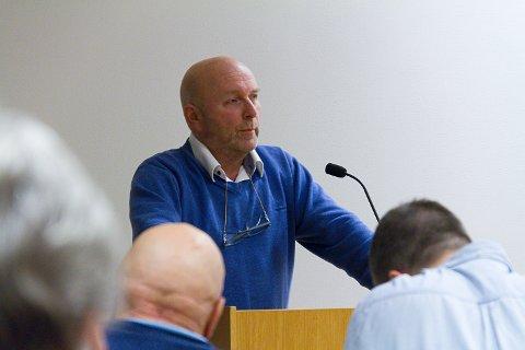 Sveinung Larsen (Frp) kritiserte samanslåingsprosessen.