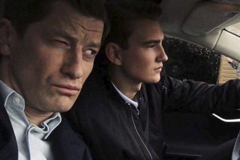Spennande rolle: Oliander Taule (t.h) spelar rolla som Jørgen, sonen til Eirik Aber som blir spelt av Odd Magnus Williamson (t.v.). ALLE FOTO: PRIVAT