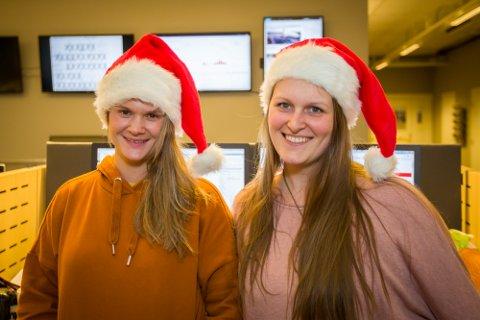 Juleferie sa du? Journalistane Eline Kirkebø og Camilla Aasen Bø er parat - også i jula. Så om du vil ha litt godt lesestoff er det berre å stikke innom nordhordland.no gjennom heile jula. Vi leverer!