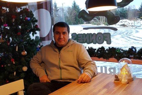 Kadir Yildiz opnar La Bella Napoli Pizzeria på Manger i februar.
