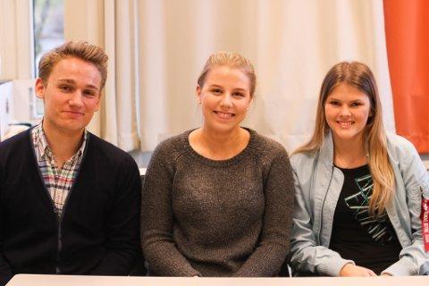Håvard Hystad Hugaas, Vendelin Fedje og Ida Thomassen skal vere russ til våren. Dei presiserer at alle russ som ynskjer å stå inne for haldningane som vert portretterte gjennom media.