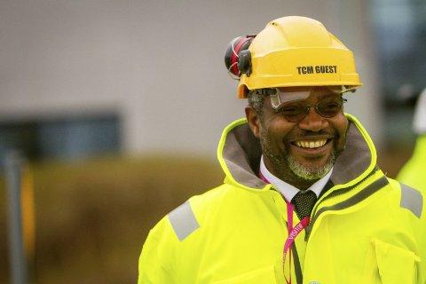SATSAR: Pierre Bang og Total er no inne på investorsida av TCM Mongstad. Dei meiner anlegget er i verdstoppen.alle foto: yngve garen   svardal