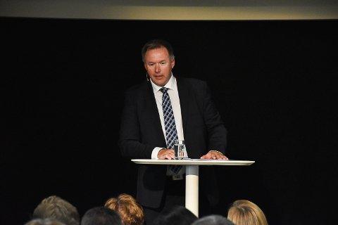 – Det er veldig gledeleg å sjå at så mange og dyktige folk har så stor interesse og engasjement for å vera med og utvikla næringslivet i Nordhordland, seier dagleg leiar i IUV, Børge Brundtland.