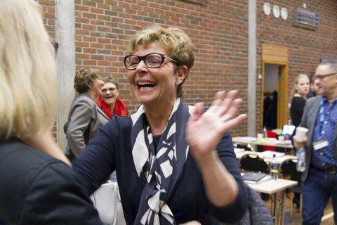 KARTLEGG FRAMTIDA: Hordaland fylkeskommune, med fylkesordførar Anne Gine Hestetun i spissen, løyver ien halv million kroner til ein rapport om fag- og kompetansebehovet i Nordhordland, fram mot år 2030