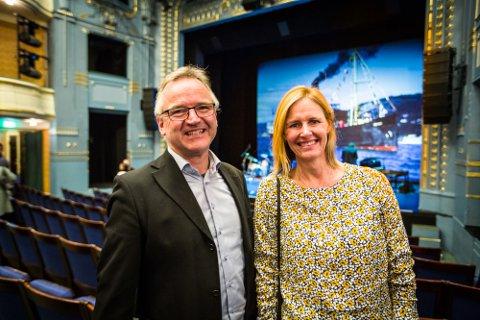Magne og Ann Kristin Legernes frå Alversund var på Medaaspriskonserten måndag. – Eg vart inspirert til å gå heim og høyra meir DeLillos, seier Magne Legernes.