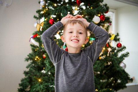 Barn i Trollskogen Barnehage svarte på spørsmål om juletida.