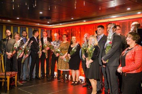 Bilde frå Nordhordland awards.