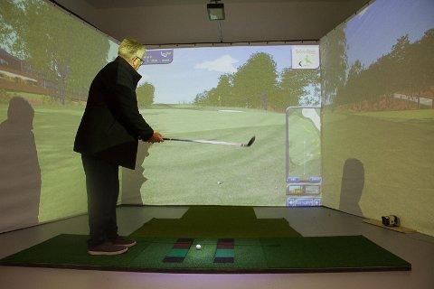 Rune Mjøs, Meland Golf