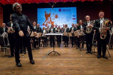 NMi brass 2018. EBML. Eikanger-Bjørsvik musikklag.