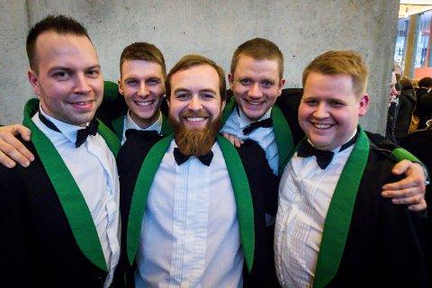 NMi brass 2018. Manger musikklag. Torgeir Andvik, Sigurd Olsen, Richard Vetås, Brynjar Mjanger Eide, Martin Frantzen.