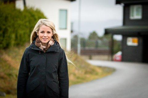 NY LEIAR: Karina Garnes Reigstad er vald som ny leiar i MDG Meland. Ho tek over for Leif Johnsen.