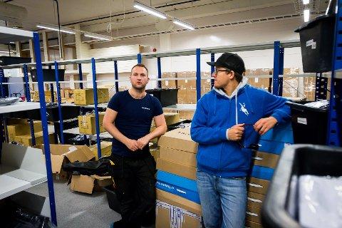 TØFT: Hans-Martin Martinussen og Simen Wilberg fekk ein tyngre slutt på 2017 og start på 2018 enn håpa, men no merkar dei at ting byrjar å skje hjå fridykkande nordmenn igjen.