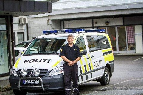 Lensmann Kjell Idar Vangberg lovar mange kontrollar i Nordhordland i påsken.