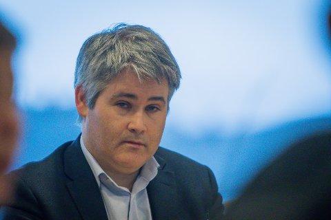 SKUFFA: Meland-ordførar Øyvind Oddekalv er skuffa over at Meland ikkje får vera med og forhandla om ein byvekstavtale i denne omgang.