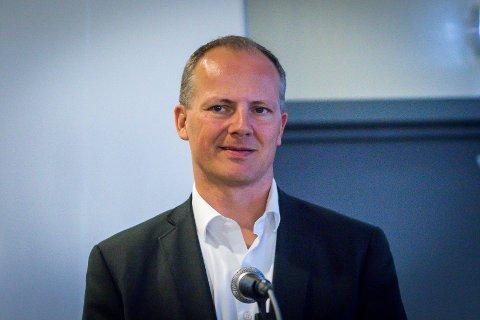 U-864-møte på Fedje. Ketil Solvik Olsen.