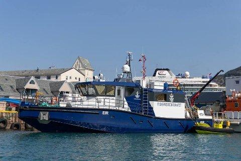 Den nye oppsynsbåten til Norwegian Rig Shuttle, M/S Eir, vert døypt i Bergen.