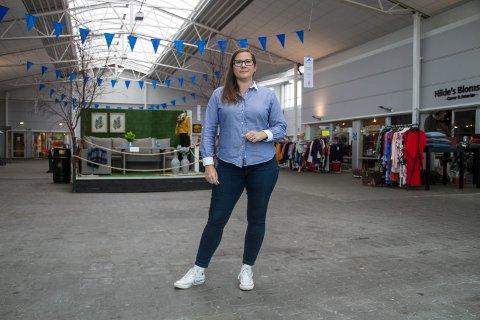 Sofia Sætre er senterleiar på Mastrevik torg