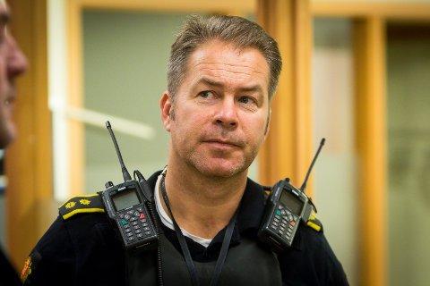 Arkivfoto av innsatsleiar i Nordhordland lensmannsdistrikt, Kurt Inge Hordvik.