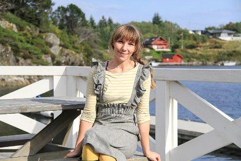 Maya Riise (32) frå Bergen starta opp bedrifta «Nordre Solend gard» på Manger i Radøy kommune i 2016.  Tysdag var ho på årets «Starte- og drive- bedrift- dag» arrangert av Næringshagane for utvikling og vekst.