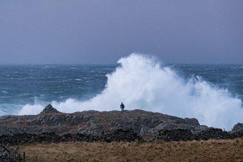Stormturisme vert det åtvara mot i hauststormane.