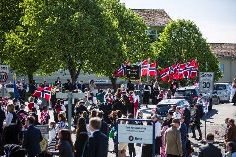 Illustrasjonsfoto frå 17.mai i Alversund. Foto: Morten Sæle