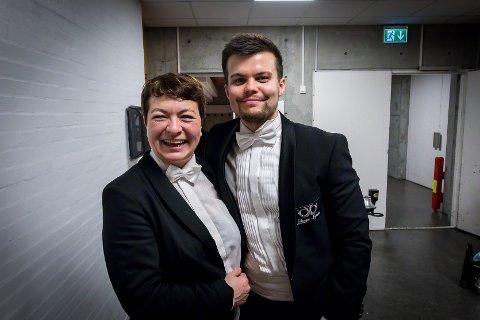 Brass-NM 2019. Eikanger-Bjørsvik musikklag vart suverene vinnarar i år også. Det er fjerde året på rad dei har vunnet. Sølvi Ones. Martin Kjeilen Steinseide.