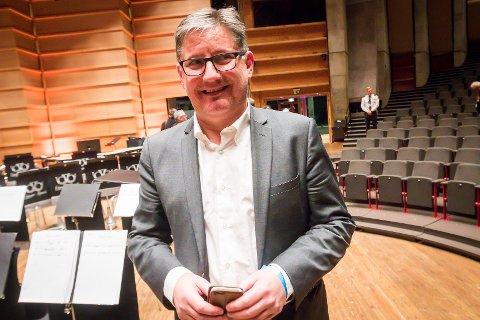 Brass-NM 2019. Eikanger-Bjørsvik musikklag vart suverene vinnarar i år også. Det er fjerde året på rad dei har vunnet. Viggo Bjørge.
