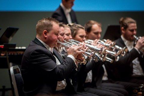 Brass-NM 2019. Festkonsert i Grieghallen med Eikanger-Bjørsvik musikklag. Jon-Vegar Sole Sundal.