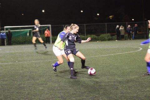 Ein av spelarane som viste seg fram var Stine Husebø som kom frå Åsane damer i fjor. Arkivfoto