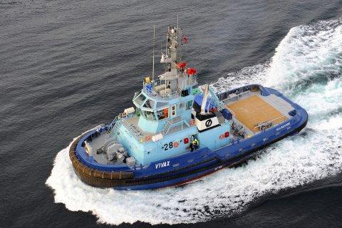 I helga måtte vesle «Vivax» i aksjon for å vera med på berginga av «Viking Sky». Fredag morgon måtte den i aksjon for å redda eit skip i havsnaud utanfor Fedje.
