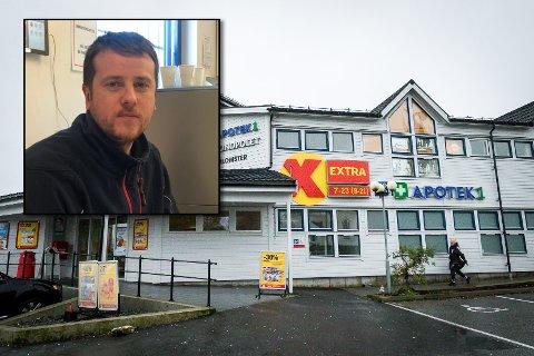 – Det kan nok bli litt ekstra hektisk i butikken i dagane framover, seier butikksjef Bjørn-Ivar Bjørge i Coop Extra på Manger. Over 1000 nye varer skal få plass i hyllene.