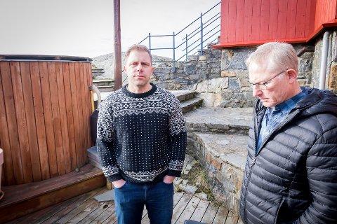 Johnny Hansen, Zephyr AS. Arne Fredrik Lånke, Norsk Vind Energi.