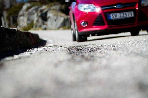 Det skal brukast rundt 70 millionar kroner til asfaltering i Hordaland i år.