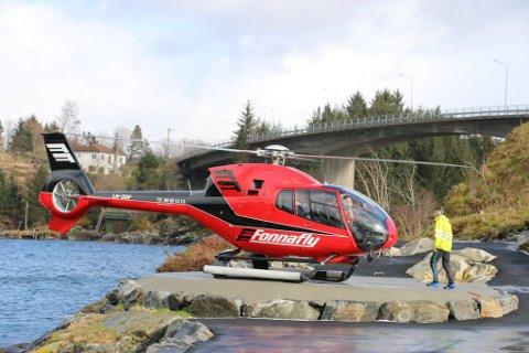 – Ekstra spanande vert det i år når Fonnafly vil flyge kortare rundturar med helikopter, seier Lerøy.