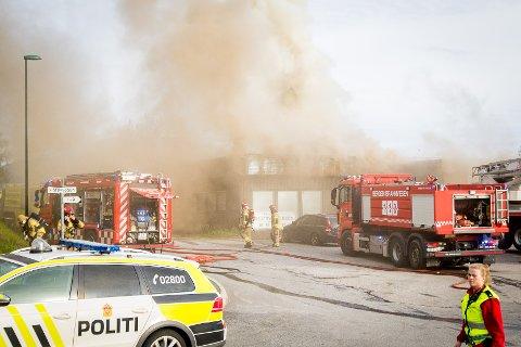 Brann industribyggg Flkatøy
