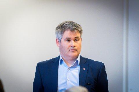 Meland-ordførar Øyvind Oddekalv.