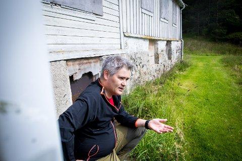 Øyvind Oddekalv vil verta ordførar i Alver kommune.