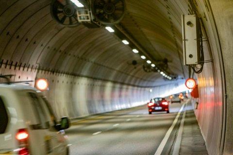 Denne fartsboksen i nordgående retning i Rælingstunnelen i Akershus er Norges mest innbringende ATK innretning.