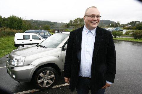 NEDSTEMT: Forslaget til Frp Vestland vart stemt ned på møtet i samferdselsutvalet, men Bjarte Vatnøy har trua på fleirtal i fylkestinget.