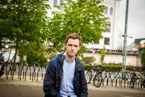 Emil André Erstad melder seg ut av KrF. Arkivfoto