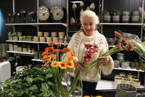 Erna Aarhus starta butikken i oktober 2020.