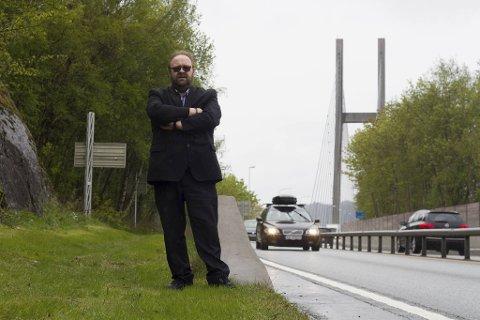 Styreleder i Alver FNB Morten Klementsen boikotter landsmøtet i partiet til helgen.