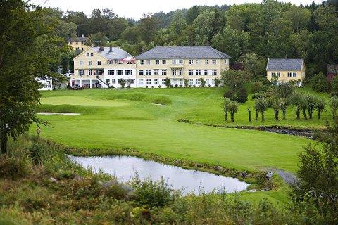 Meland Golfklubb er positive til å få ein ny grunneigar som ønskjer å investere i anlegget. Foto er frå 2009.