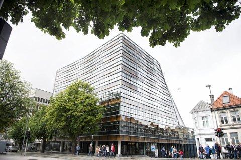 Jonsvollkvartalet i Bergen sentrum stod ferdig i 2015.