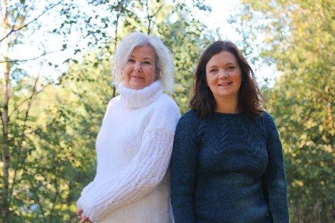 Nina Randal og Birthe Kråkenes Bjørstad er leiarar av Frivilligsentralane på Frekhaug og Manger.