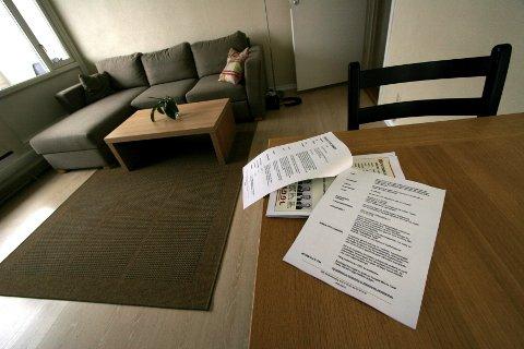 SAMSVARTE IKKE: I tilstandsrapporten og salgsprospektet var det opplyst om at leiligheten var 65 kvadratmeter. Det viste seg etter salget at den var langt mindre. ILLUSTRASJONSFOTO: NTB