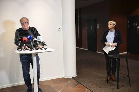 Trond Egil Hansen og Beate Husa.
