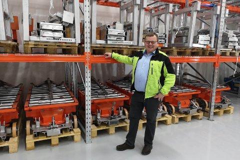 Bjarte Kvamme frå Radøy gjekk nyleg inn i stillinga som dagleg leiar i Liftroller AS sitt nye utleigarselskap.