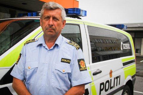 LENSMANN: Kjell-Idar Vangberg er lensmann i Nordhordland lensmannsdistrikt, som Solund kommune er blitt ein del av.