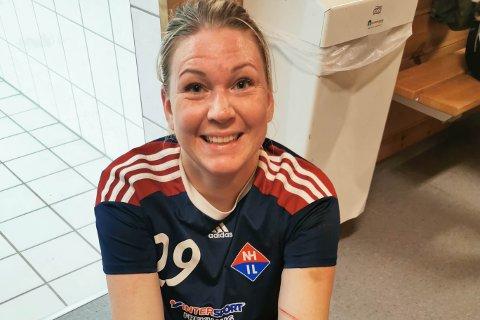 BOMPENG VART FOR DYRT: Anette Hæreide bestemte seg for å slutte å spele handball på Flaktveit då det kom enda ein bomring.